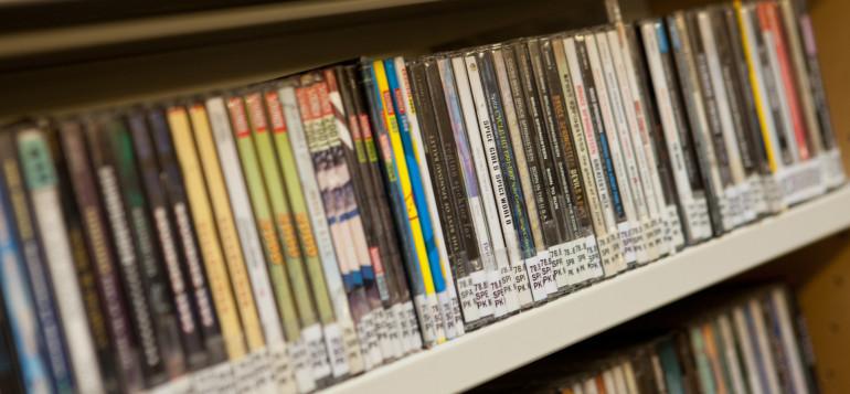 CD-levyjä.